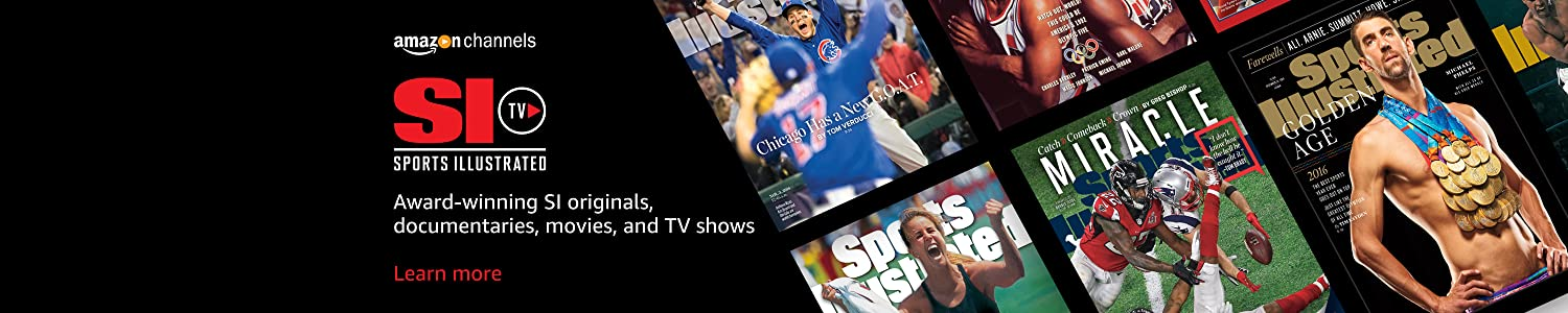 Award-winning SI originals, documentaries, movies, and TV shows