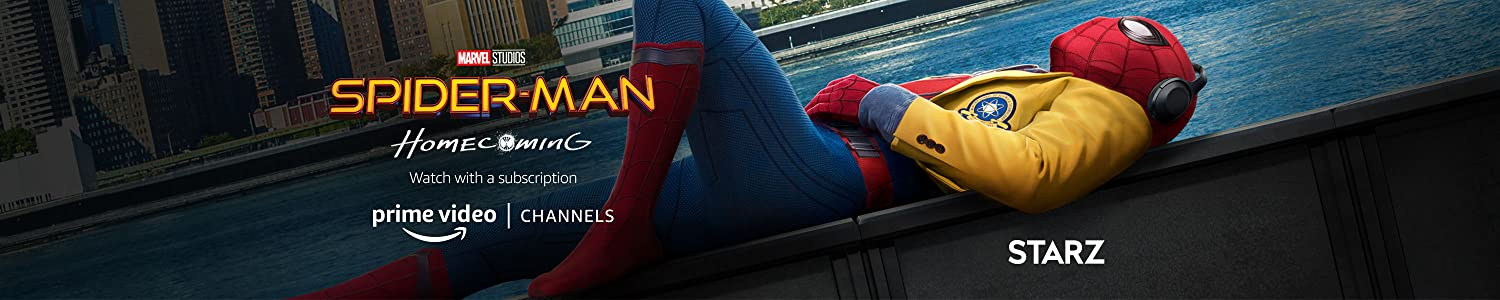 Watch Spider-Man: Homecoming with STARZ on Prime Video Channels.