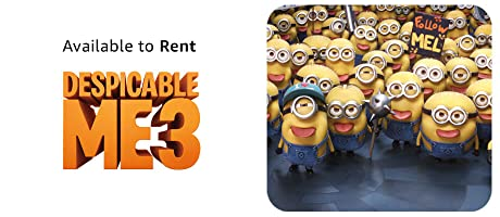 Despicable Me 3 available to rent