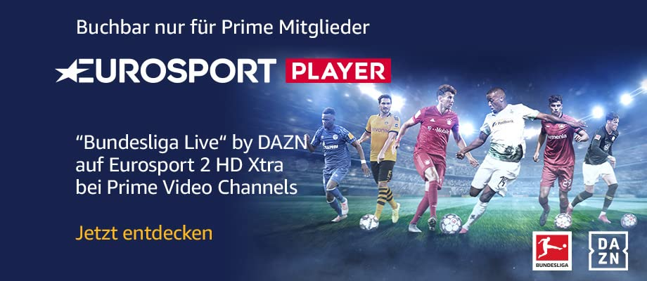 Unique sports events: live matches of the Bundesliga, tennis, cycling, and motor sports