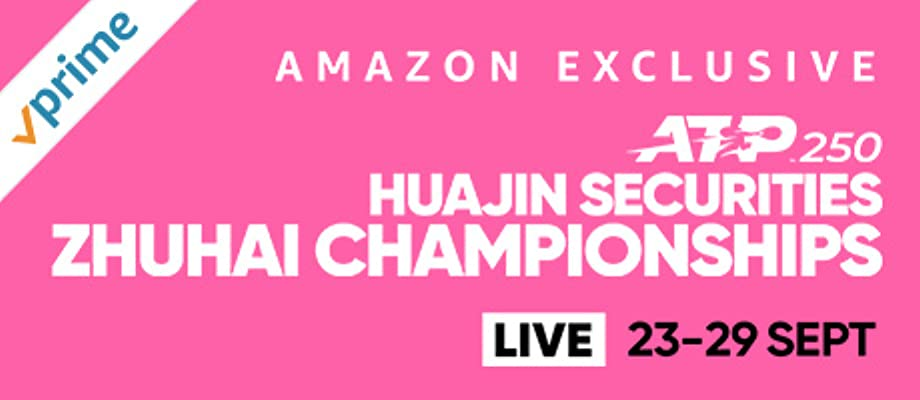 Watch live men's tennis from the 2019 Huajin Securities Zhuhai Championships, ATP 250 in Zhuhai, China (23 Sep - 29 Sep, 2019) and catch up on the best moments.
