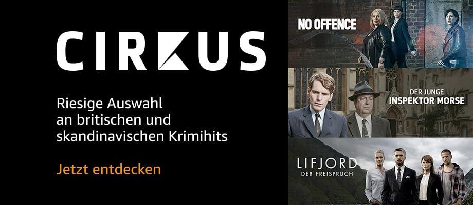 Cirkus – Riesige Auswahl an britischen und skandinavischen Krimihits