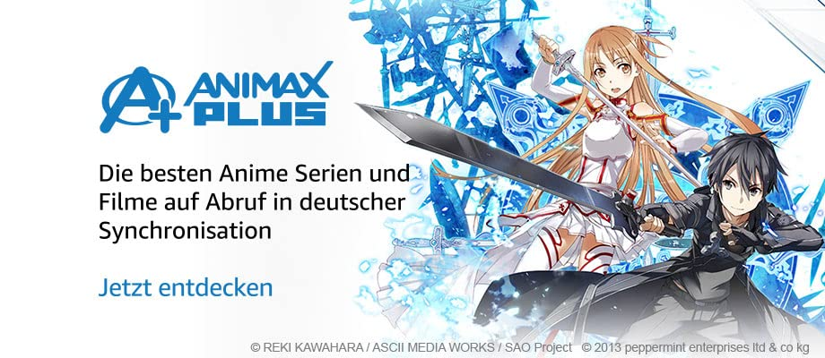 The best anime series and movies on demand with German dubbing