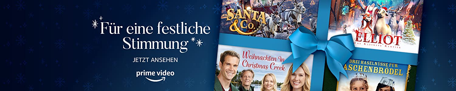 Season's streaming- Christmas movies and more on Prime Video