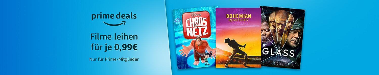 Prime Deals: Filme für je 0,99€ leihen. Nur für Prime-Mitglieder.