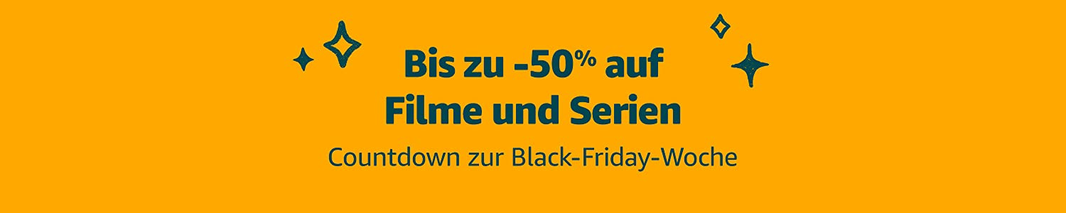 Countdown to Black Friday Sale: Up to 50% off Movies and TV shows