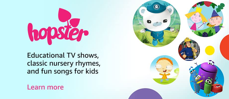 Educational TV Shows, classic nursery rhymes, and fun songs for kids