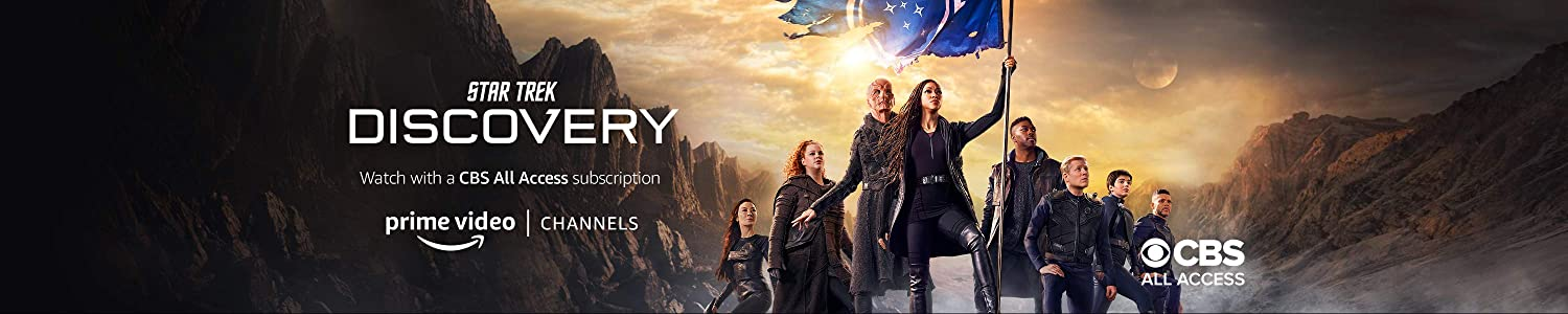 Watch Star Trek: Discovery Season 3 on CBS All Access with Prime Video Channels