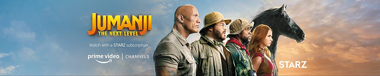Watch Jumanji Next Level on Starz with Prime Video Channels