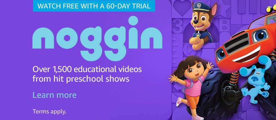 Over 1,500 educational videos from hit preschool shows