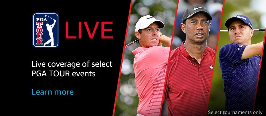 Live coverage of select PGA TOUR events