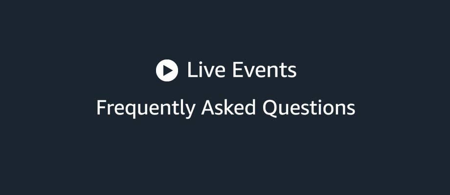 Live events help