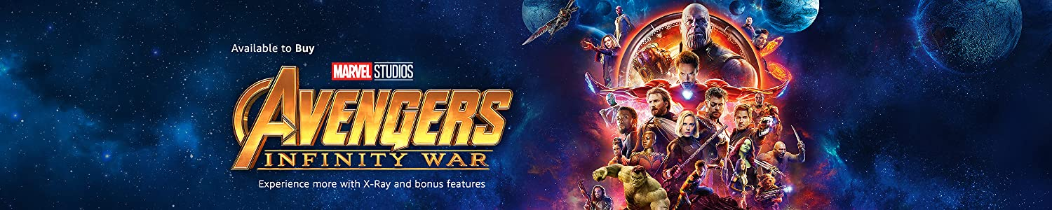 Avengers: Infinity War available to buy