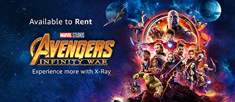 Avengers Infinity War available to rent