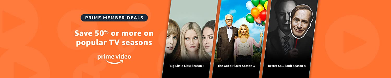 Prime member sale on fall tv titles