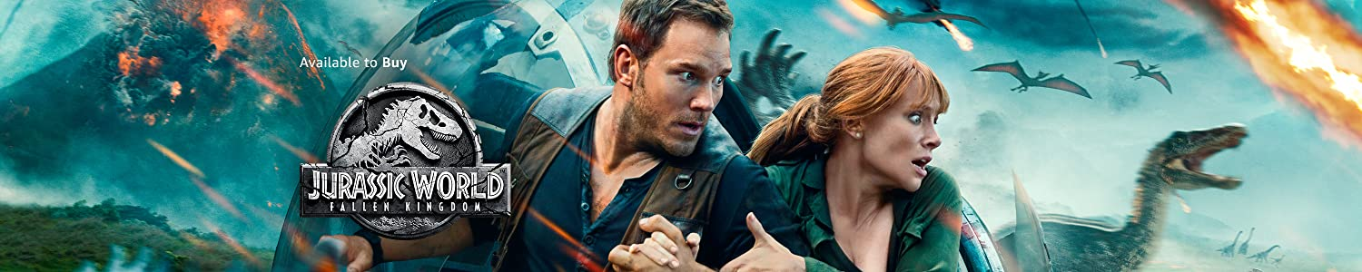 Jurassic World Fallen Kingdom available to buy