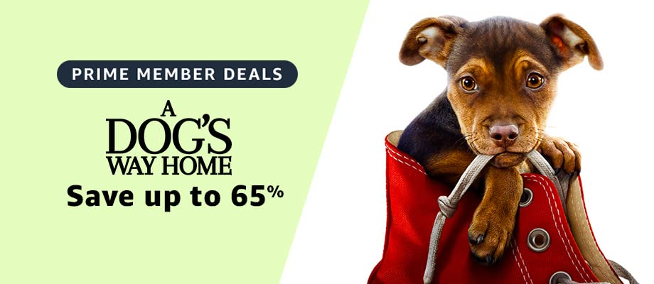 A Dog's Way Home on sale for Prime Day