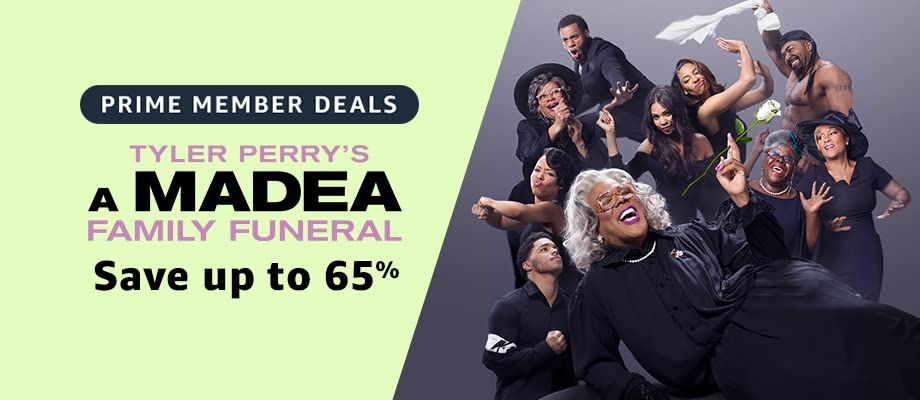 Tyler Perry's A Madea Family Funeral on sale for Prime Day