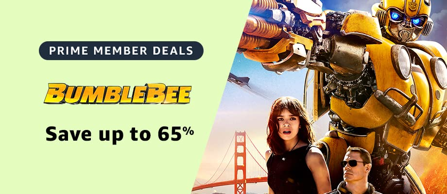 Bumblebee on sale for Prime Day