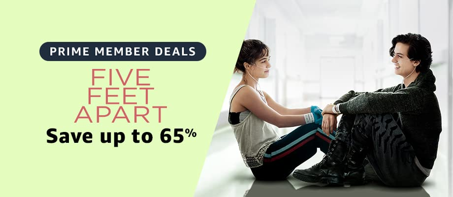 Five Feet Apart on sale for Prime Day