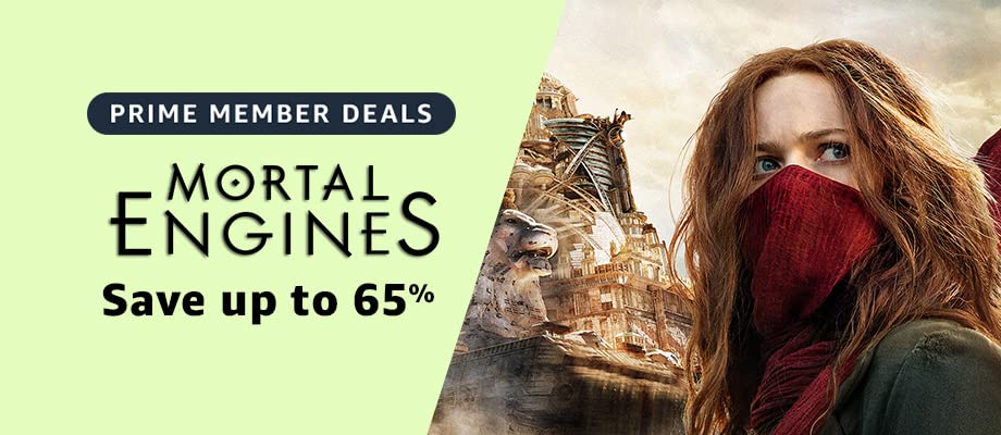Mortal Engines on sale for Prime Day