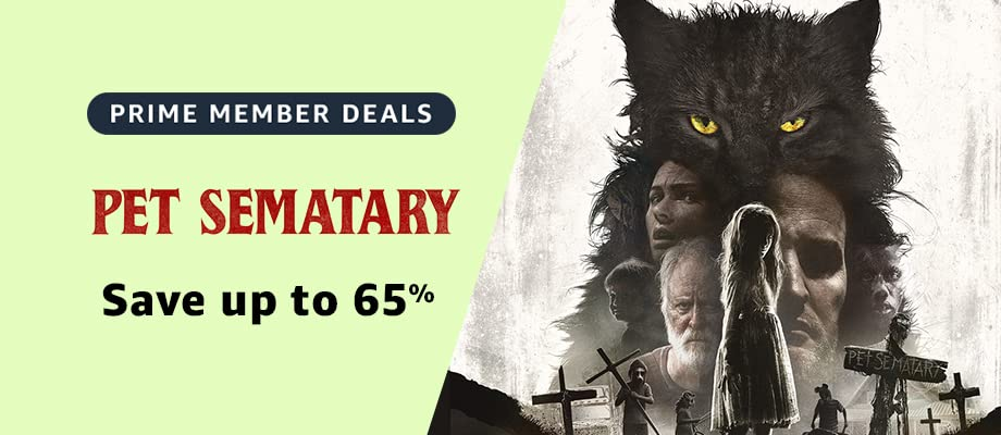 Pet Sematary on sale for Prime Day