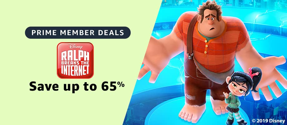 Ralph Breaks the Internet on sale for Prime Day