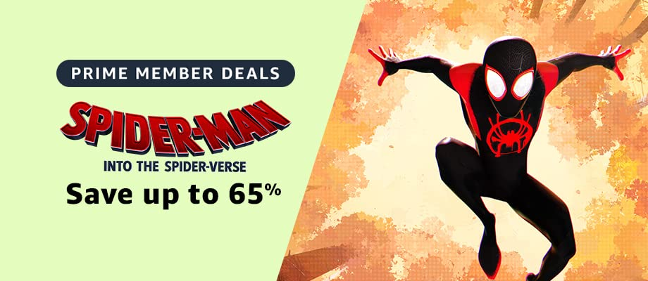 Spider-Man: Into the Spider-Verse on sale for Prime Day