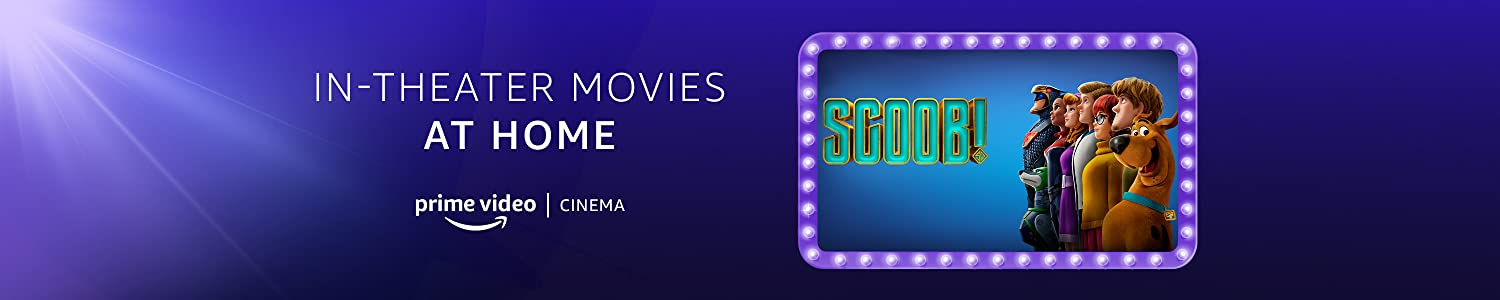 Scoob! on Prime Video Cinema
