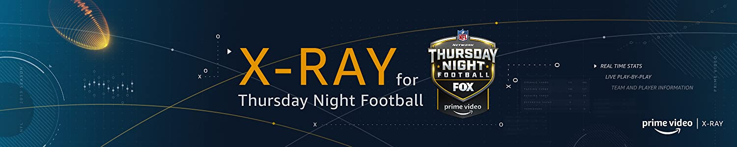 Real-time Stats by X-Ray with Thursday Night Football on Prime Video