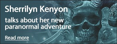 Sherrilyn Kenyon on her new paranormal adventure