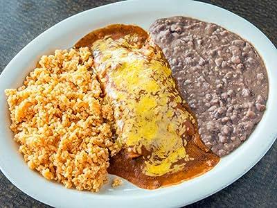 Beef Enchilada Plate