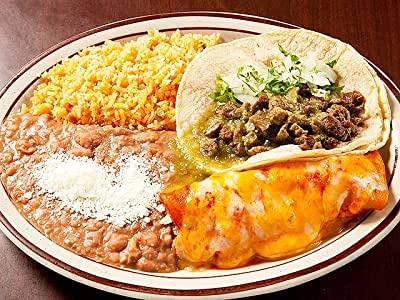 #1 One Taco, One Enchilada