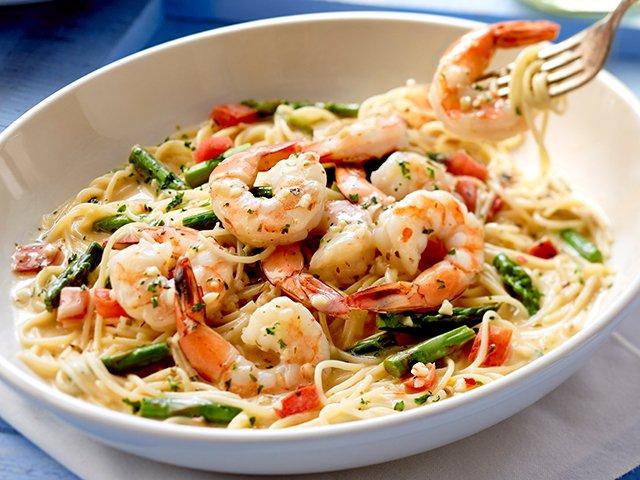 Olive Garden Shrimp Scampi Appetizer