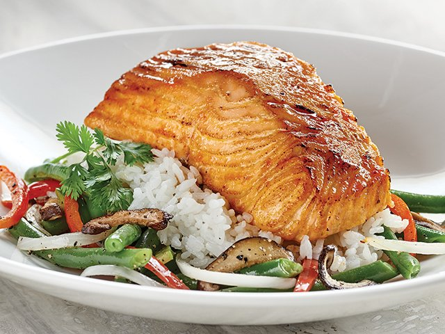 Rainforest Cafe Salmon Nutrition