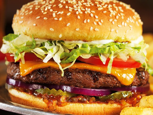 Red Robin Keep It Simple Burger
