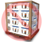 Do not use open boxes typically used for display purposes. (For example, open- front boxes or boxes without tops.)