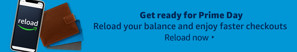 Reload your balance and enjoy faster checkouts