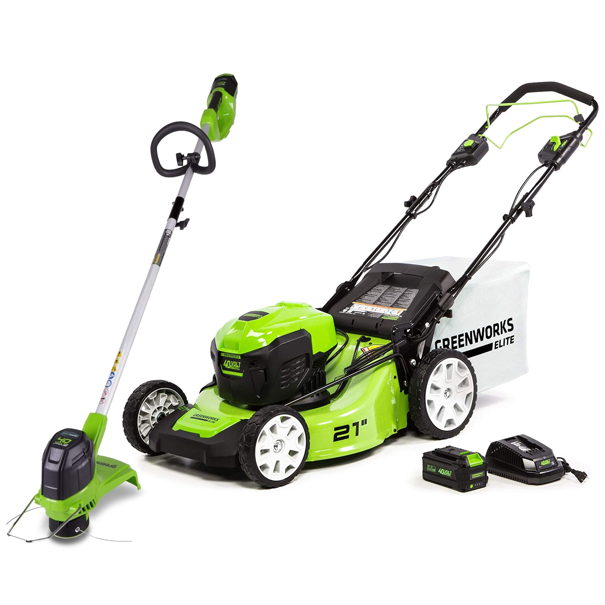 Save on Greenworks Outdoor Power Tools