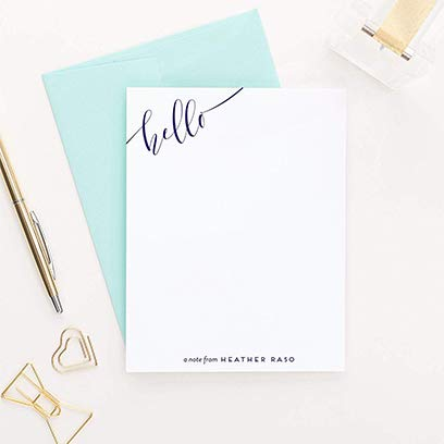 Handcrafted Personalized Stationery