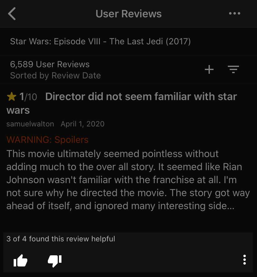 App user review ratings