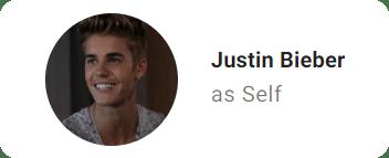 Justin Bieber Self credit