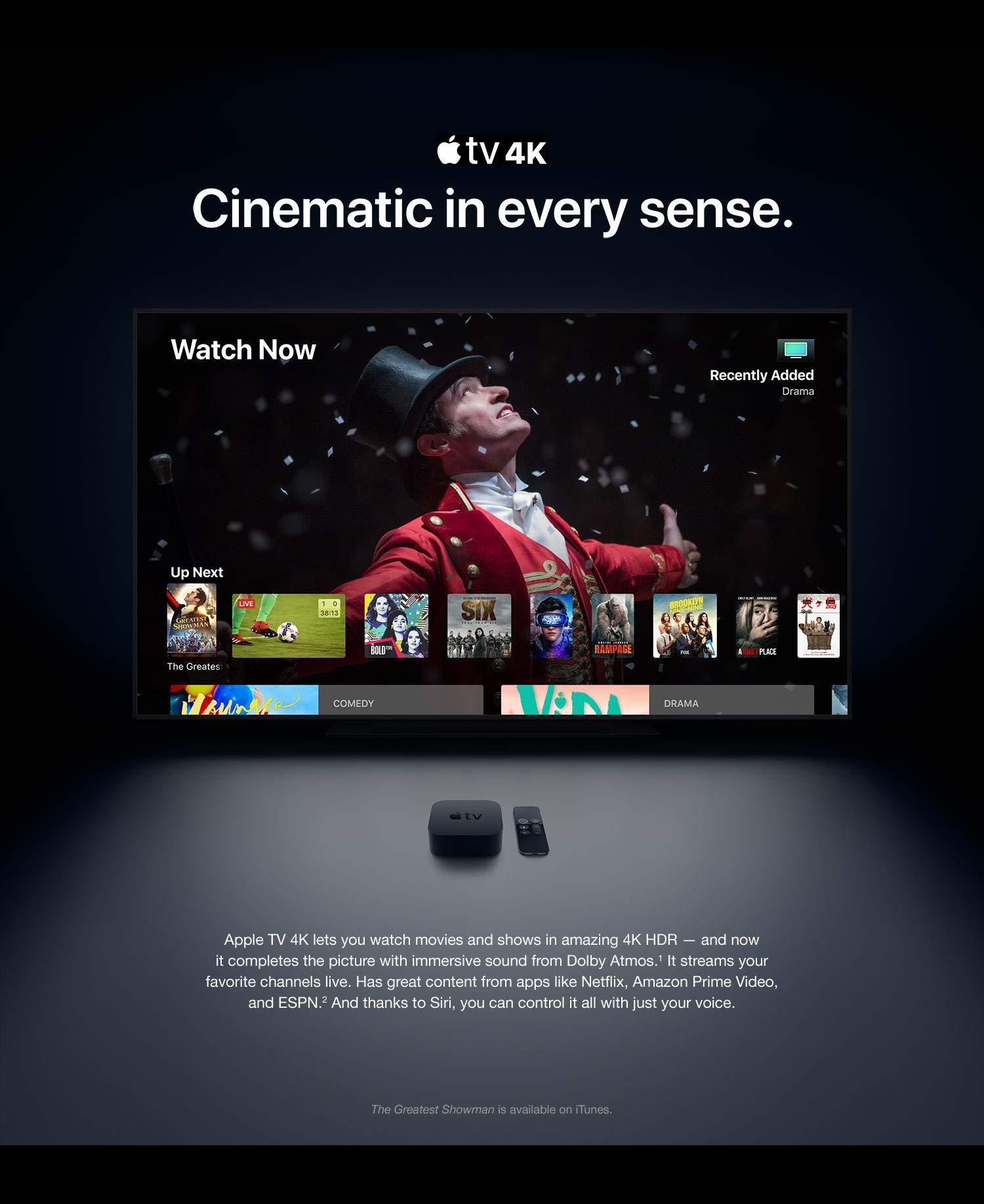 סטריימר Apple TV 4K 64GB
