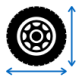Find the correct size tires for your vehicle: