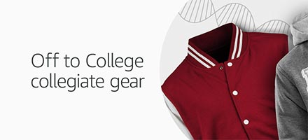 Off to College collegiate gear