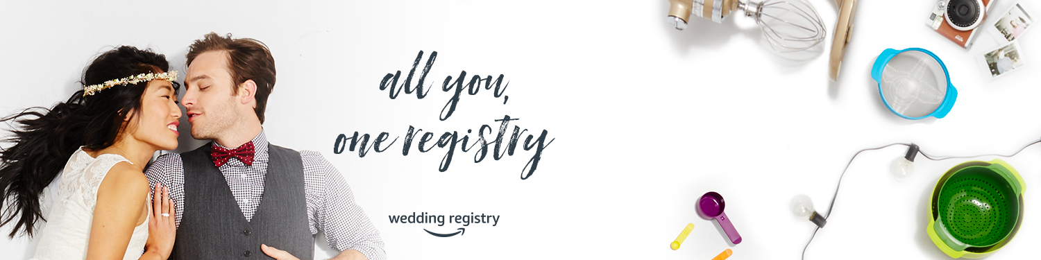 Wedding registry gifts amazon wedding bridal registry for At home wedding registry