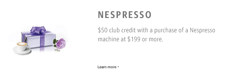 Nespresso Bonus Gift