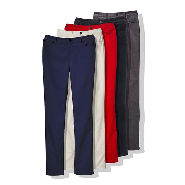 High Rise Straight Leg Velveteen Pant by Talbots
