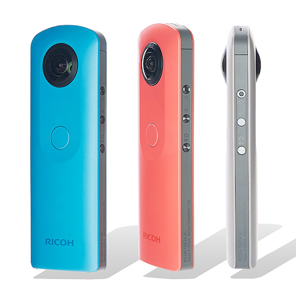 Theta SC 360° Still and Video Camera by Ricoh