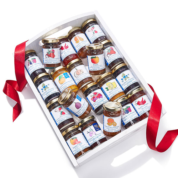 The Great Taster 20 Jar Preserve Sampler by Josephine's Feast